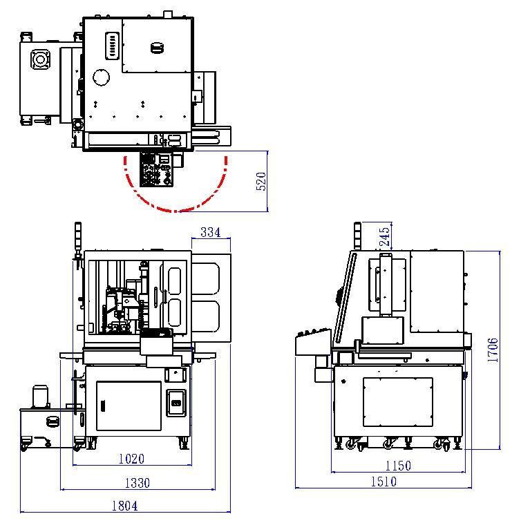 Отрезной станок ALTOCUT-CF100/120/150