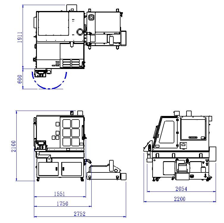 Отрезной станок ALTOCUT-CF450S для металлографии