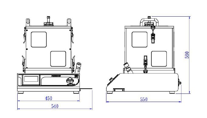 Система вакуумной импрегнации PRECIDON MV MV01A